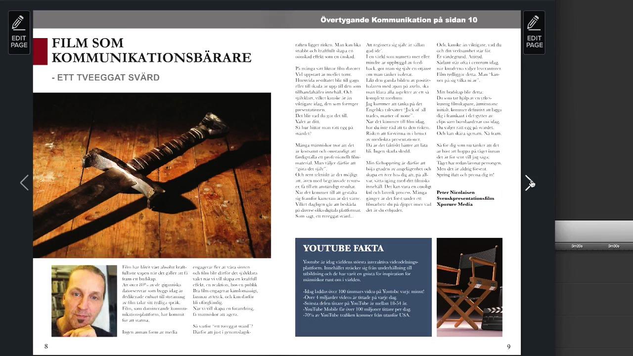 Powersales Magazine, en ny digital tidskrift om försäljning, på svenska