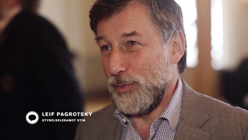 Leif Pagrotsky om SKAP och Stims betydelse för kulturlivet