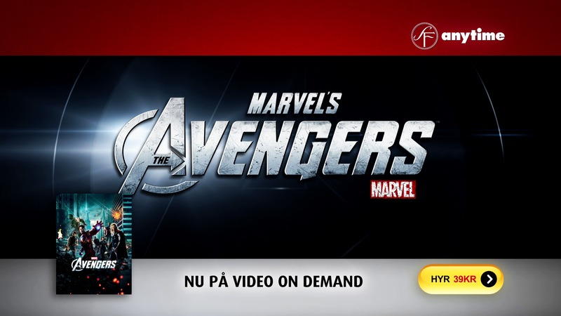 SF Anytime tv-reklam för The Avengers