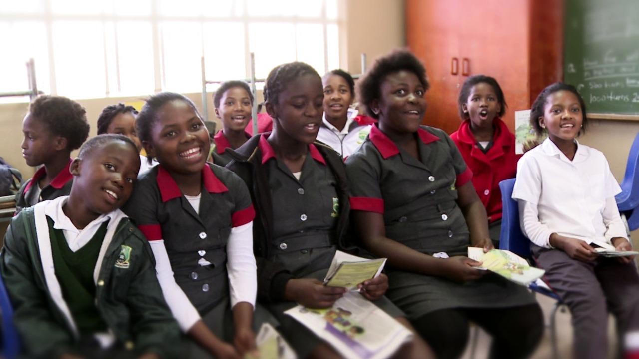PRAESA och det läsfrämjande projektet Nal'ibali