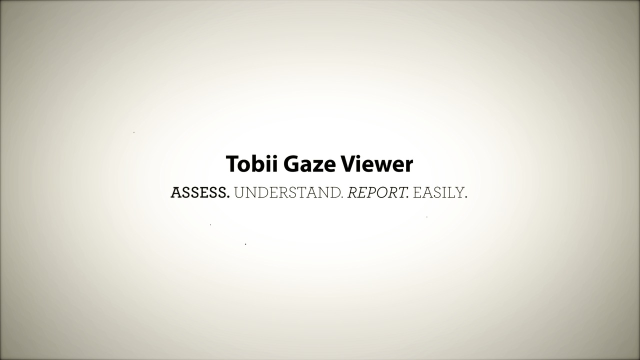 Tobii Gaze Viewer - Record Real Gaze Data for Assessments