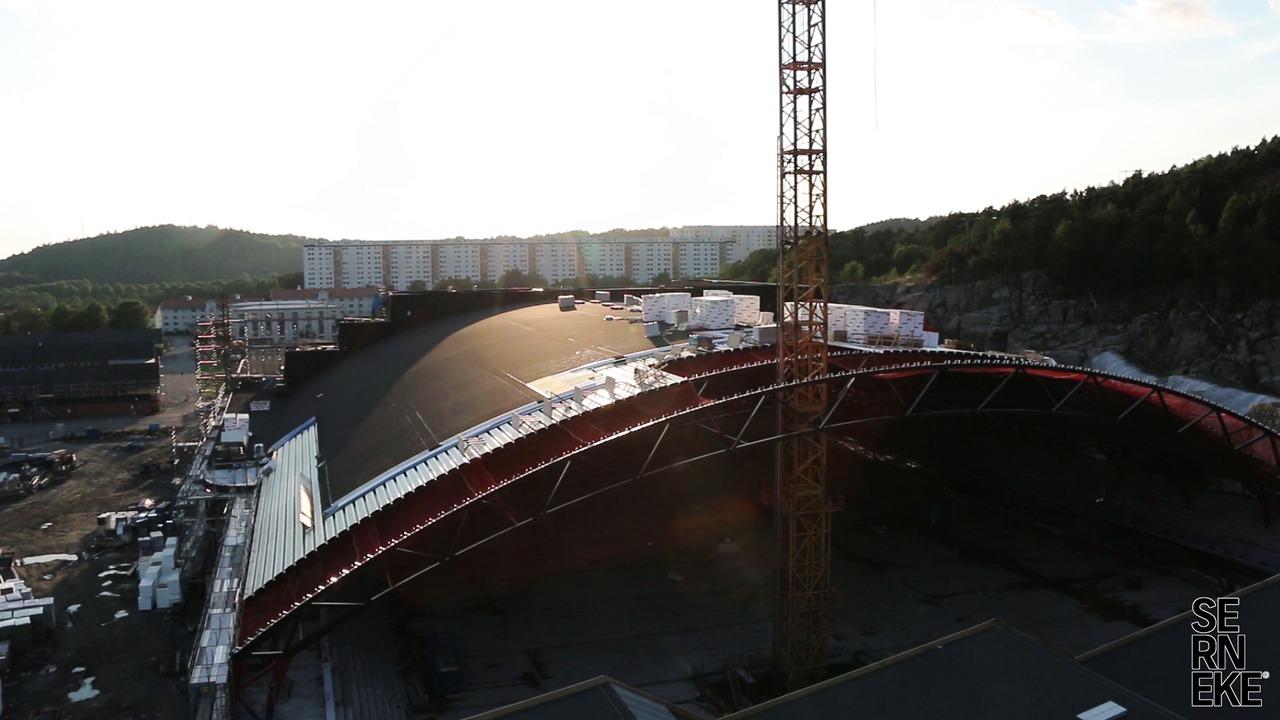 Flygtur över Göteborgs Nya Arena