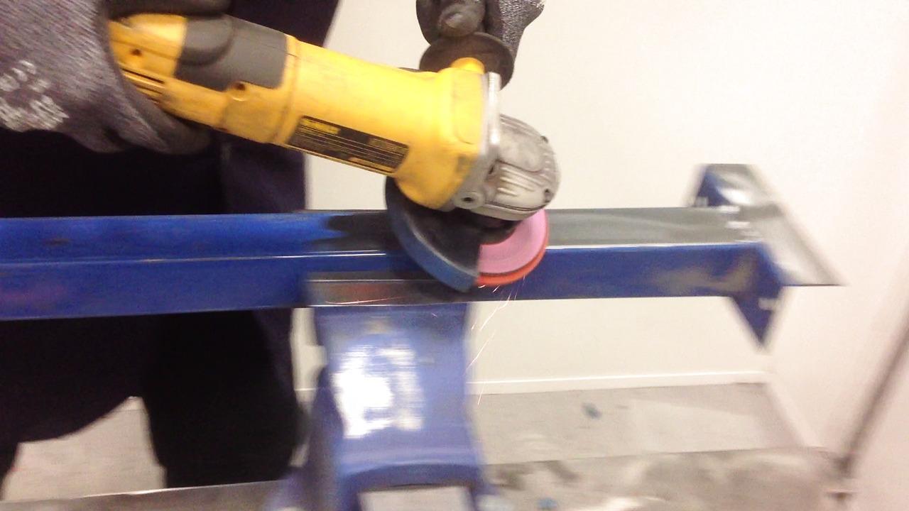 Blaze Rapid Strip grovrengøringsrondel - fjernelse af farve