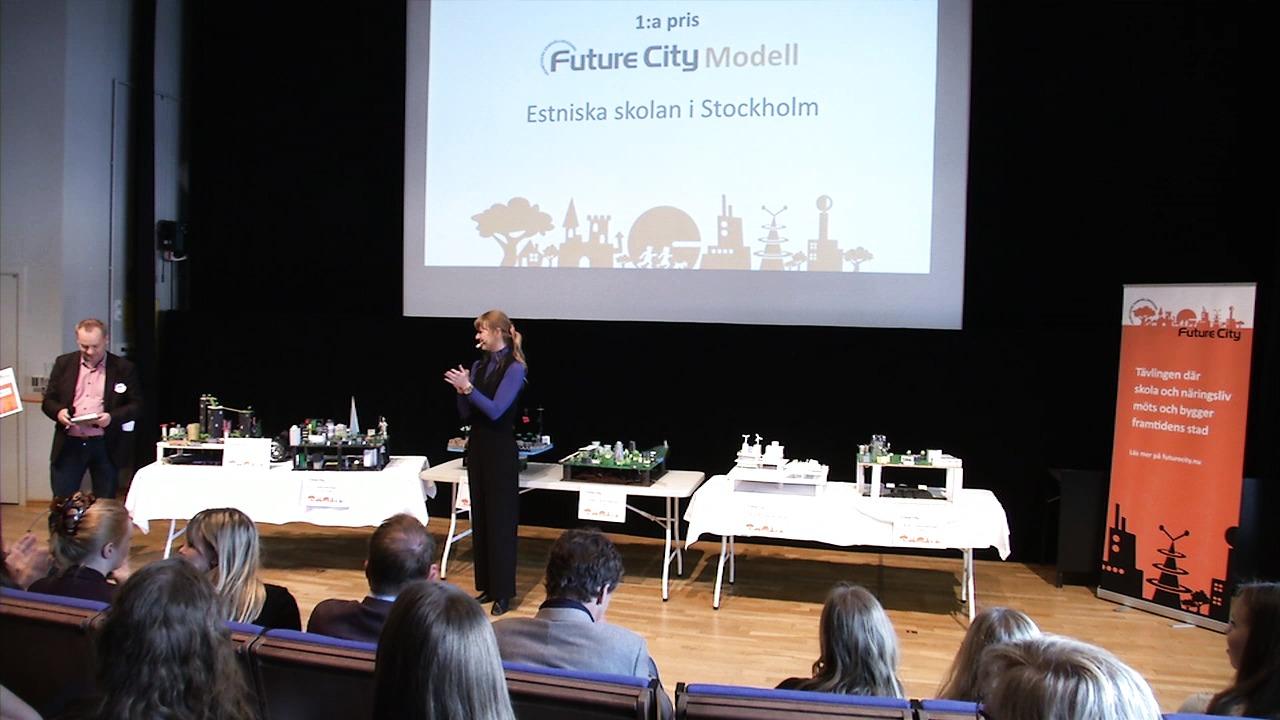 Prisutdelning 2015: Future City Modell