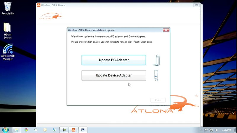 How to Install AT-HDAiR Drivers in Windows 7