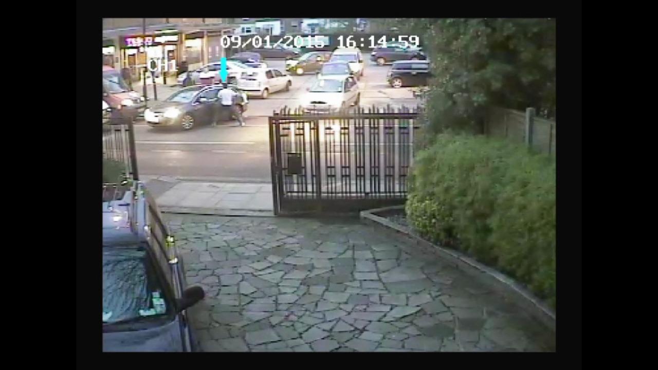 CCTV of crime