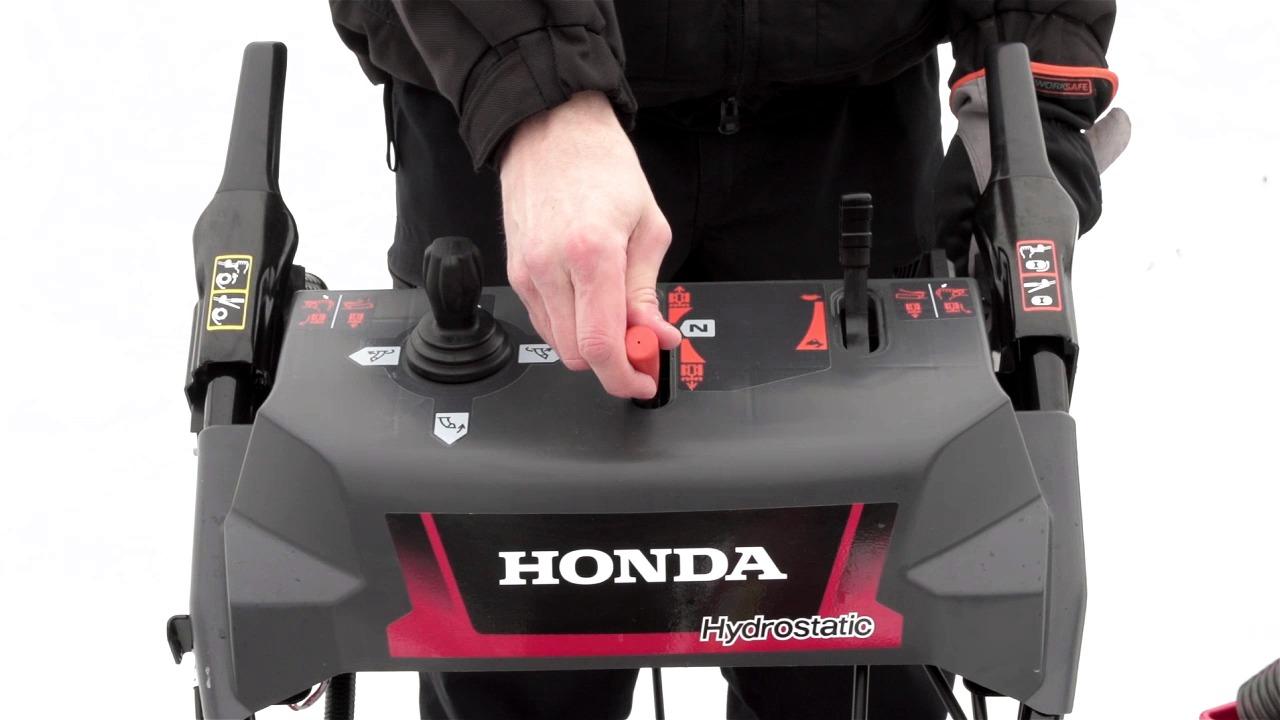 Honda nya snöslungor, funktioner