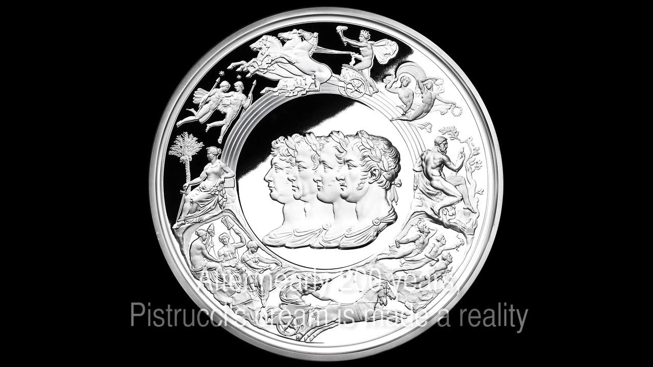 Næsten 200 år undervejs – Pistruccis Waterloo medalje
