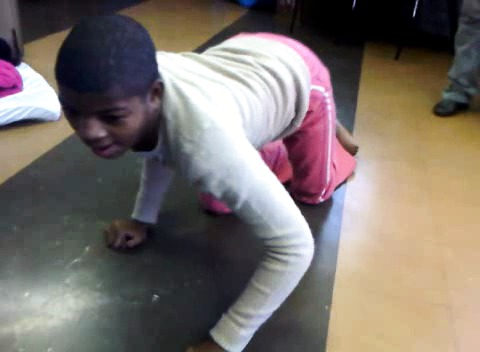 Siphe is crawling