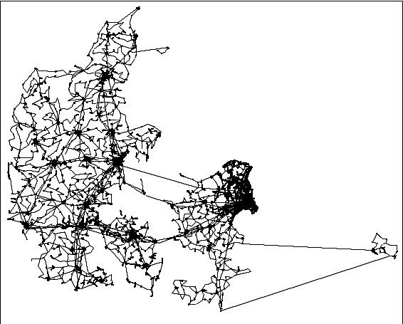 TDC - Pressemeddelelser - TDC's fibernet runder 40.000 km