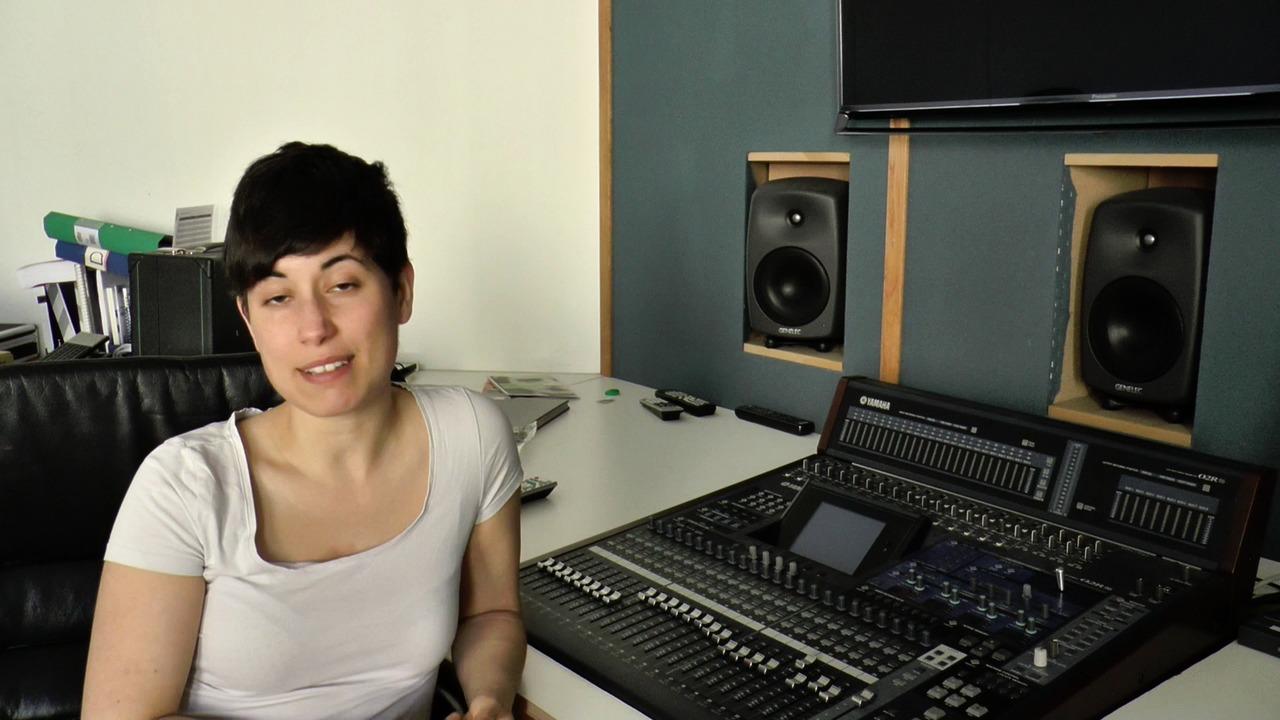Videoklipp om The City Composing, Hara Alonsos masterprojekt på Kungl. Musikhögskolan maj 2015
