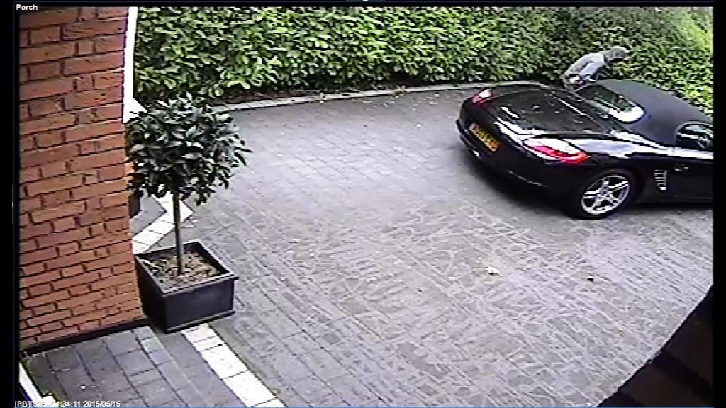 Footage - aggravated burglary K607/15