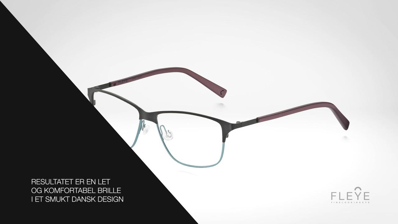 FLEYE - fjerlet dansk brilledesign