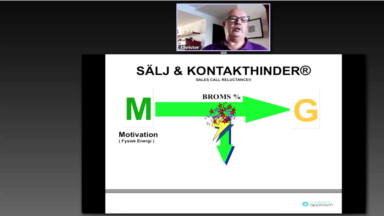 Vårt senaste webbinar om sälj-/kontakthinder på svenska