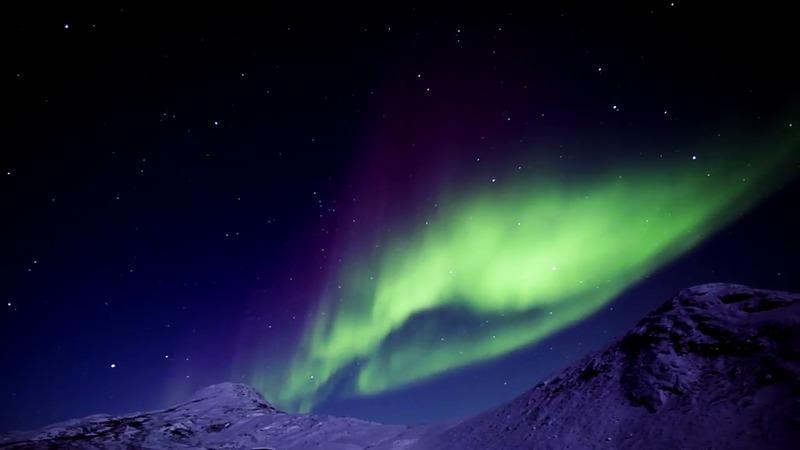 Nordlys på Grønland