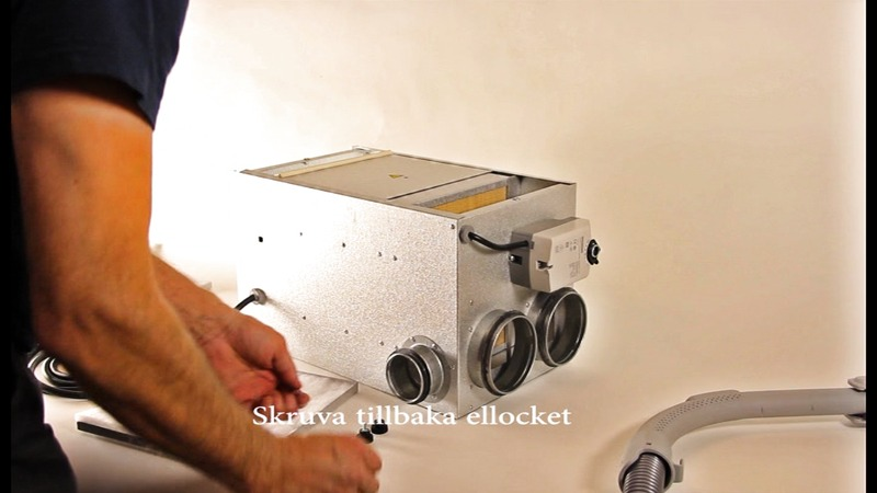 Service och filterbyte Acetec PD-serien