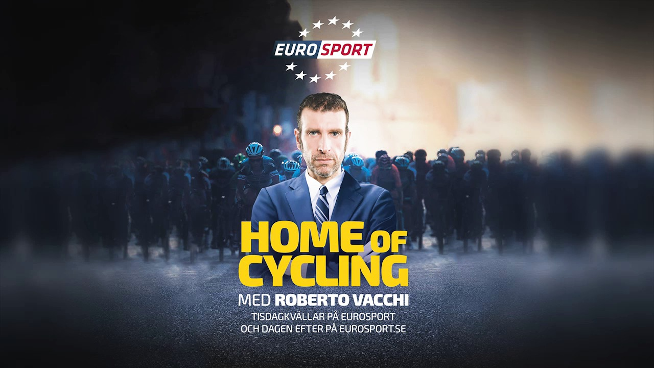 "Eurosport lanserar cykelmagasinet ""Home of Cycling"""