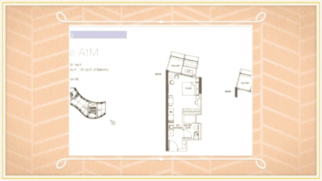 DUO Residences Condo at Bugis Singapore - Floor Plan Information