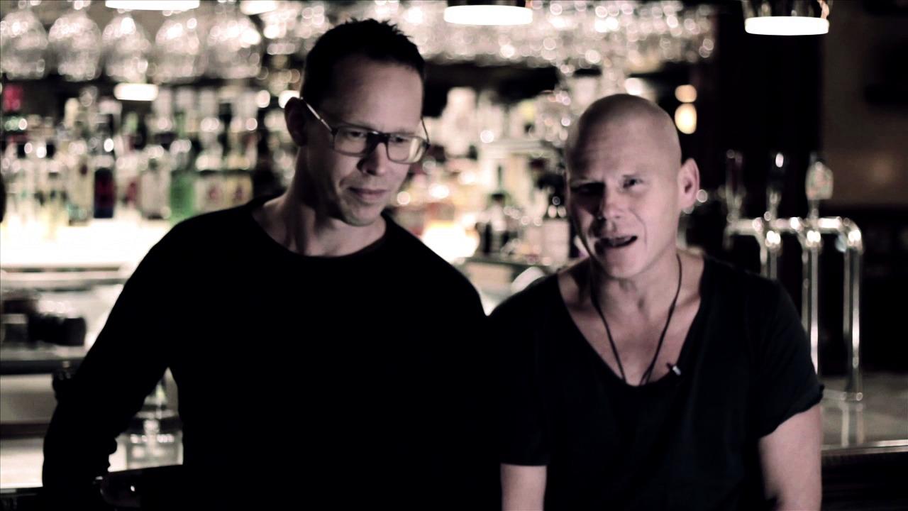 Mons Kallentoft och Markus Lutteman pratar om nya romanen Leon