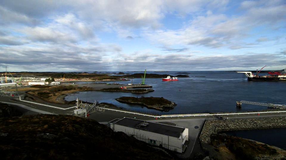 Polarled trekkes inn på Nyhamna