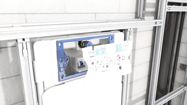 Geberit GIS sanitetsväggar - installationsfilm