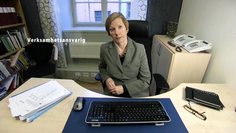 Andrea på väg - engelskspråkig syntolk