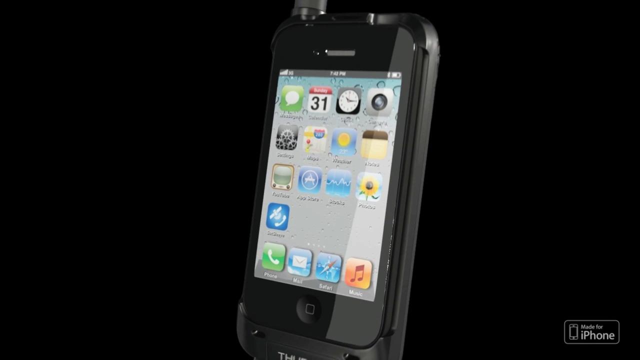 Thuraya SatSleeve - din smartphone blir en satellittelefon