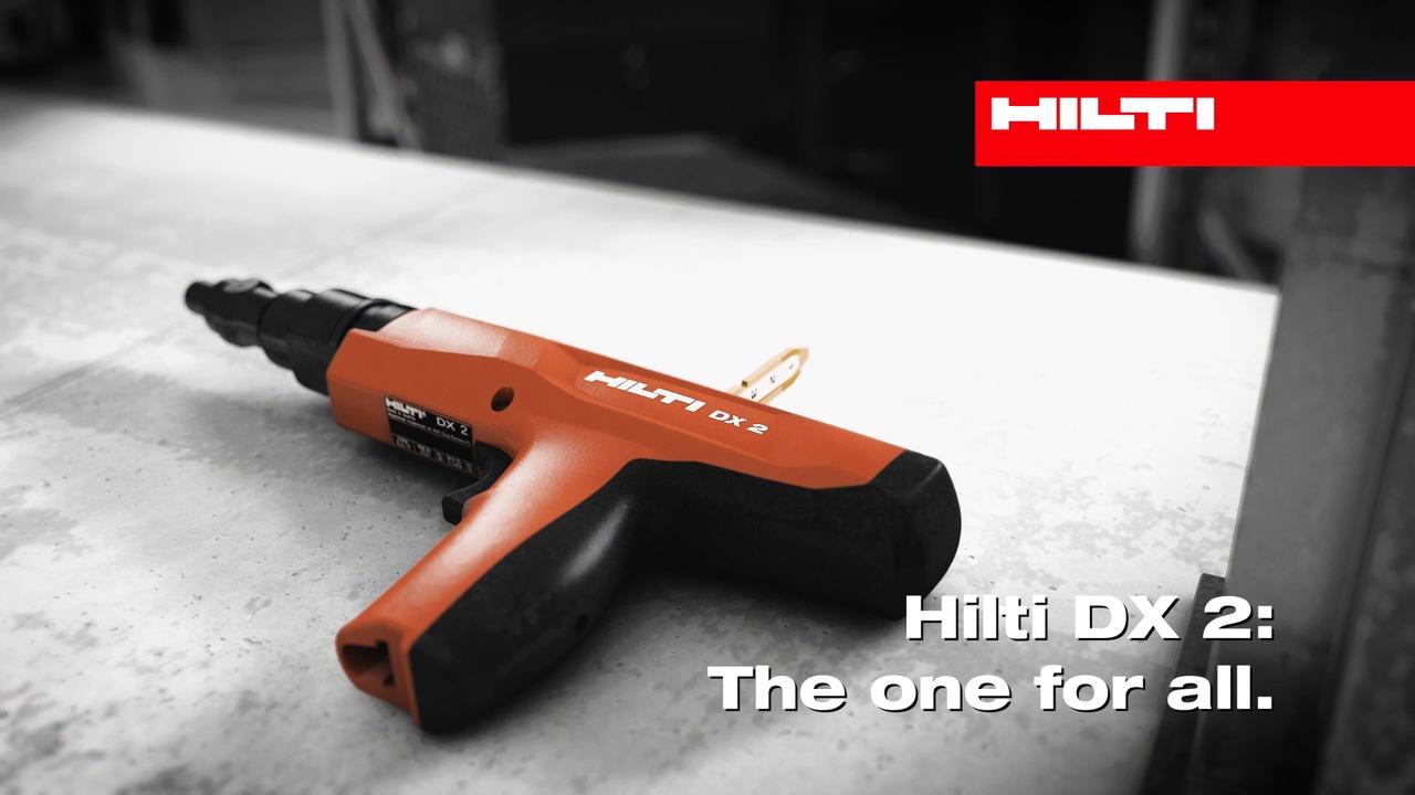 Till priset av en skruvdragare - så här använder du Hiltis nya lilla bultpistol DX 2