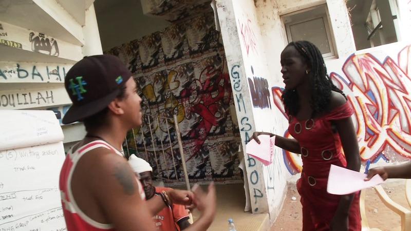 Musikkvideo med ungdommene fra Studio Timbuktu