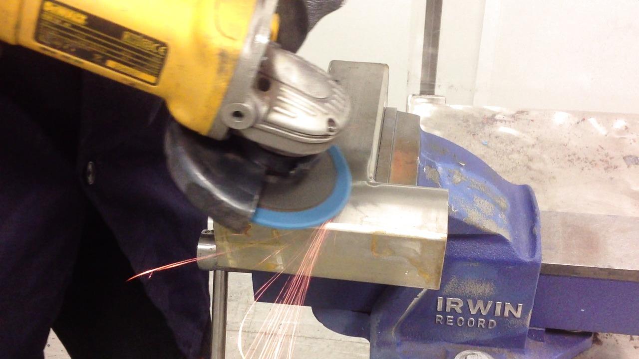 Nye overfladebehandlingsrondeller til vinkelsliber. Video