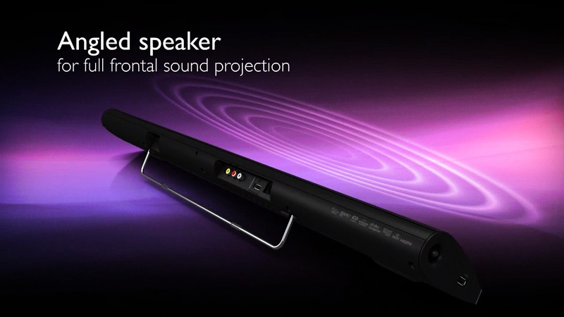 Philips CSS5123 Connected soundbar