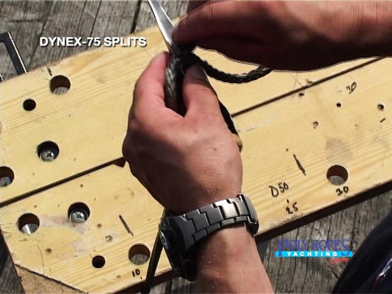 Splitsinstruktion Dyneema / HMPE