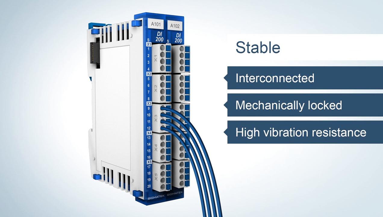 S-DIAS - Nya generationen kompakt I/O-serie i fickformat