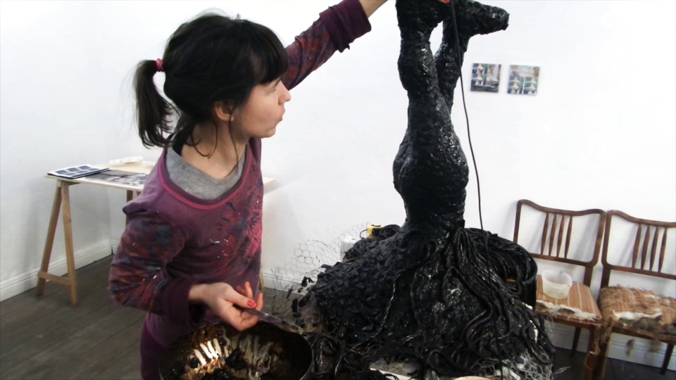 The Story of the Sculpture in Liquorice