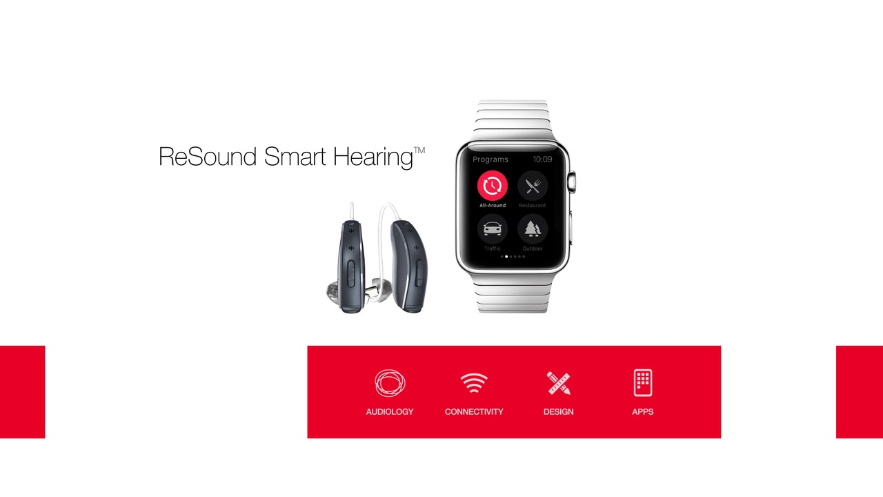 ReSound Smart app for Apple Watch - kontroller høreapparatene rett fra hånden