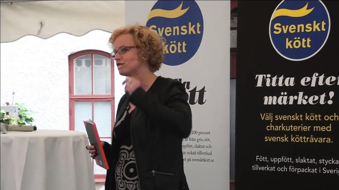 Almedalen 2014: Bara Gud & slaktar´n… En debatt om det anonyma köttet i charken och färdigmaten