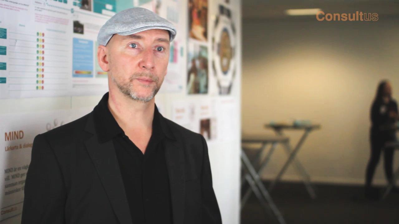 Presentation med John Lundborg