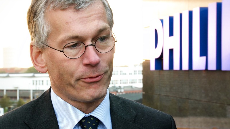 Philips CEO Frans van Houten's visit in Denmark  - Børsen interview