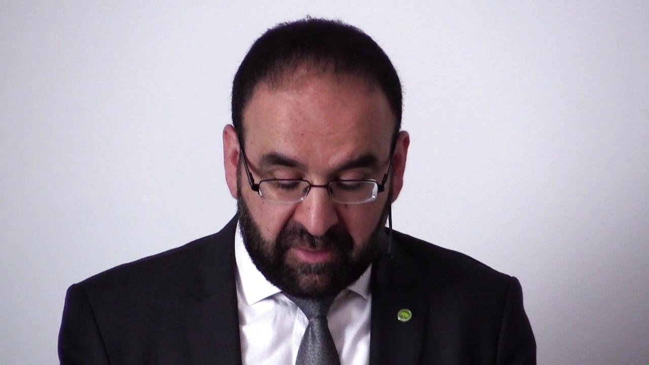 IT-minister Mehmet Kaplan hos IT&Telekomföretagen 7 maj 2015