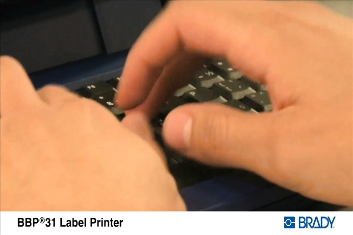 Brady BBP®31 Sign and Label Printer