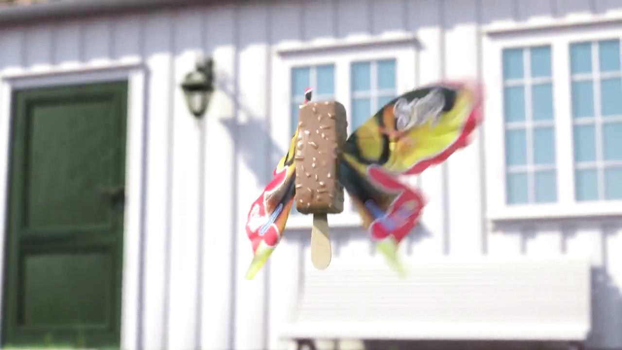 Hennig Olsen Is - Iskremsommerfugler