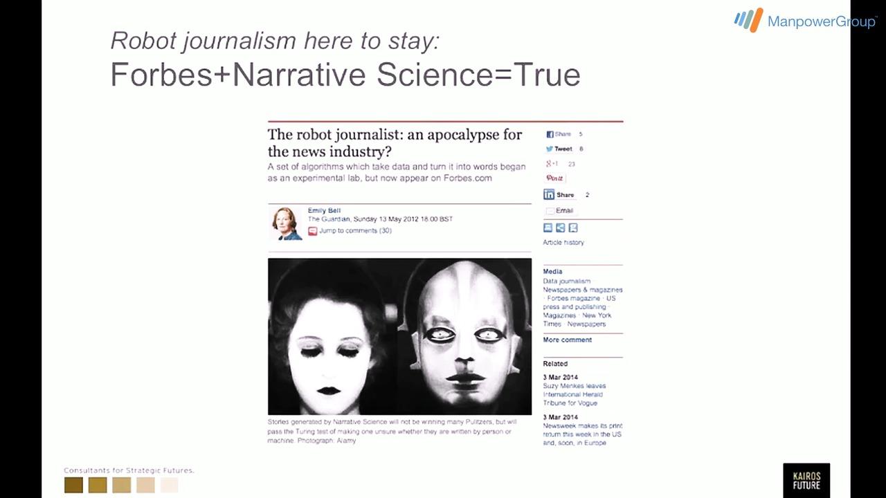 Datorer är snart överlägsna journalister, del 4, #mpgforum