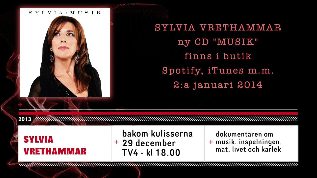 Sylvia Vrethammar är tillbaka med nytt album och ny dokumentär