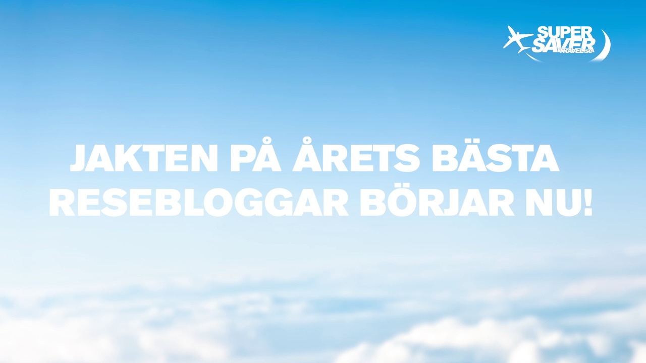 Nu ska Sveriges bästa resebloggar röstas fram