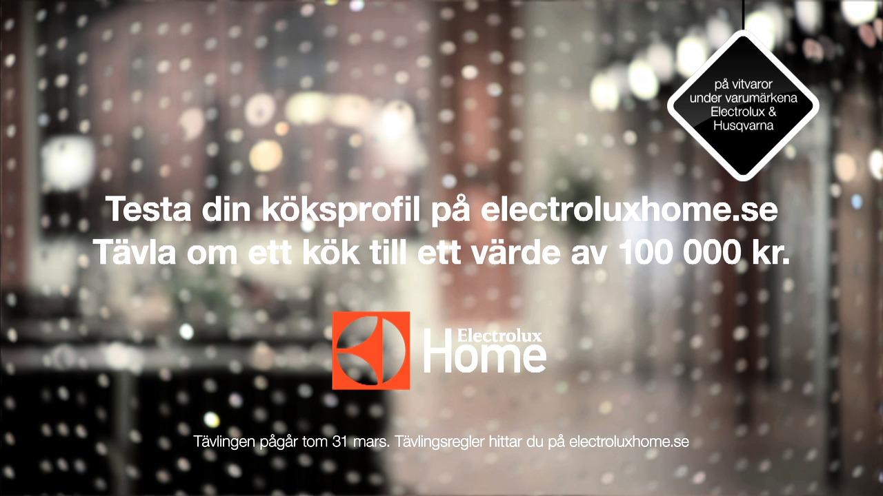 Electrolux Home reklamfilm 2014 - Johan Umeå
