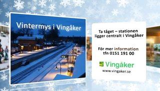 Vintermys i Vingåker