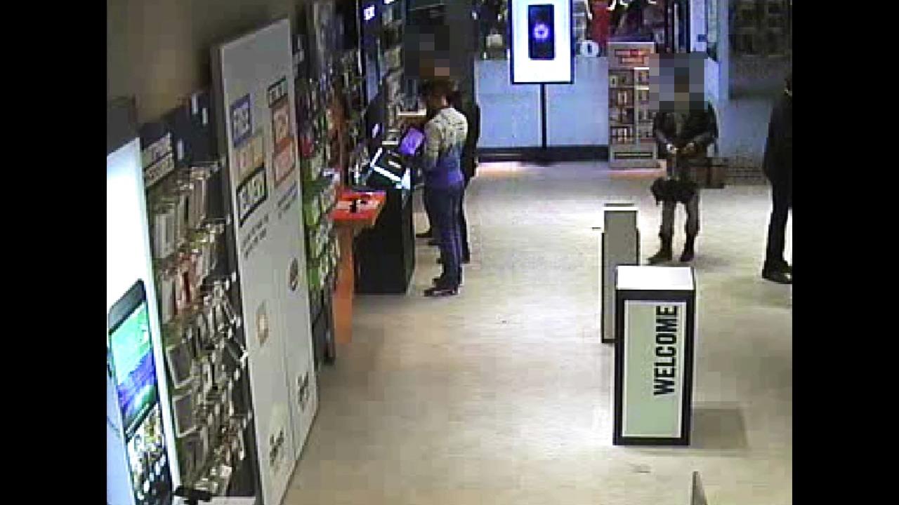 CCTV of Croydon theft