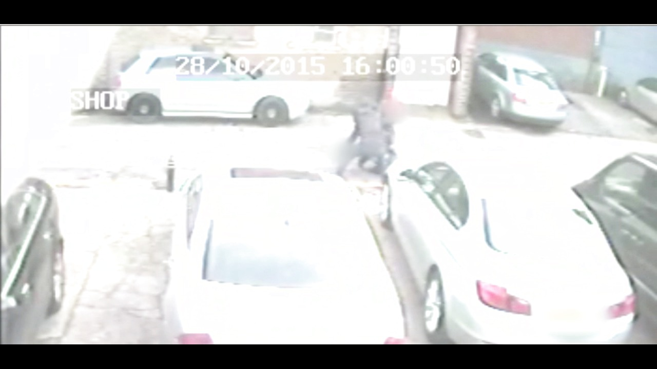 Moving CCTV footage