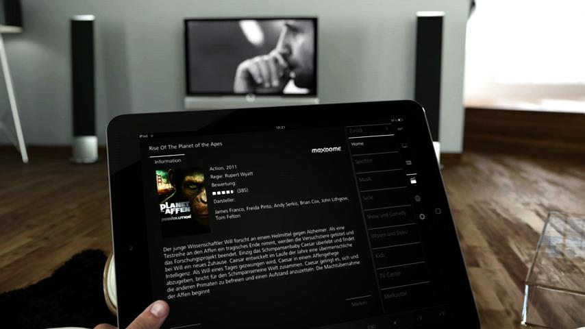 Loewe Assist Media App - Information och tjänster från en enda källa