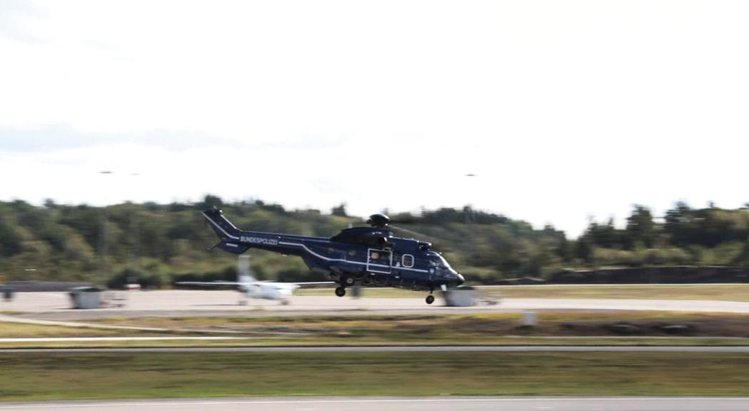 Göteborg Landvetter Airport - start och landning